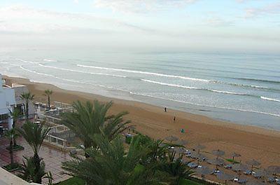 hotel agadir bord de plage et mer amadil beach
